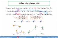 جلسه 19 فیزیک دوازدهم-شتاب متوسط و شتاب لحظهای 1- مدرس محمد پوررضا