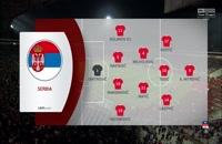 فول مچ بازی صربستان - پرتغال؛ (نیمه اول) پلی آف یورو 2020