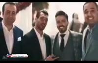 عروسی سیامک نعمتی با حضور بازیکنان فوتبال
