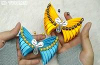 خرید فیلم آموزش ساخت پروانه زیبا با روبان