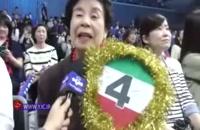 طرفداری خاص یک زن ژاپنی از سعید معروف