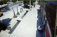 ویدئو لحظه سرقت تلفن همراه یک زن در آبادان