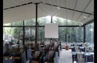حقانی 0938003931-فروش سقف برقی باغ تالار-سقف تاشو روفگاردن