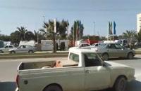 قطع برق کانکس زلزل زدگان شهر سرپل ذهاب در آستان سفر روحانی  | مسافرت
