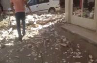 زمین لرزه در خوزستان .