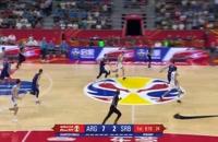 خلاصه بازی آرژانتین - صربستان؛ جام جهانی بسکتبال چین 2019