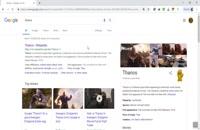 thanos را در گوگل جستجو کنید و شگفت زده شوید!