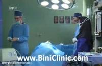 جراحی بینی استخوانی و عمل بینی گوشتی همراه با دکتر حامد عباسی در اتاق عمل