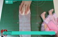 ساخت کلاه عروسک با جوراب