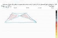 حل تست ریاضی کنکور 4 - تدریس خصوصی ریاضی