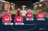 خلاصه بازی موناکو - مارسی؛ لیگ 1 فرانسه