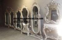 آینه کنسول فایبرگلاس,آینه و کنسول فایبرگلاس,آینه عروس