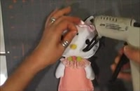 آموزش ساخت عروسک کیتی