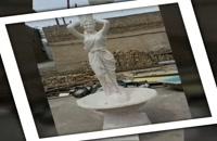 مجسمه پلی استر-آینه کنسول فایبرگلاس