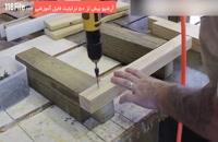 آموزش ساخت پایه های مقاوم برای کندو