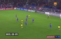 گل های مسی برابر 33 تیم در لیگ قهرمانان