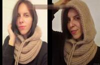 آموزش بافت کلاه رینگی و گردنی زنانه با میل