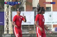 خلاصه فوتبال نابینایان ایران ۱۰ - عمان ۰ (قهرمانیآسیا)