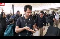 گلایه زائران از وضعیت اینترنت و خطوط تلفن همراه در مرز مهران