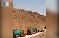 قاچاق گسترده سوخت از مرزهای شرقی ایران