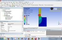 axissymmetric analysis in ansys