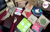 جعبه پیتزا - ایرانیان پک   نحوه بستن انواع جعبه پیتزا و معرفی جعبه های پیتزا