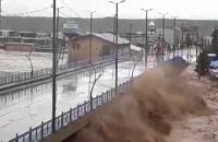 وضعیت قرمز در پل دختر لرستان / مردم منازل خود را ترک کرده اند