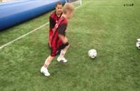 آموزش فوتبال _ دربیل زدن
