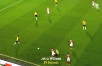 10 تا از سریعترین کارت قرمز ها در دنیای فوتبال