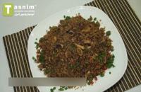 برنج سرخ شده با مخلوط غذاهای دریایی   فیلم آشپزی