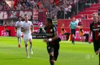 خلاصه بازی های هفته سی و سوم بوندسلیگا آلمان