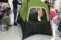 نصب چادر مسافرتی اتوماتیک کلمن 4نفره