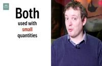 فست زبان ویدیو: در این ویدیو از مجموعه انگلیسی در ۶۰ ثانیه شبکه BBC، تفاوت بین Little و A Little بررسی خواهد شد.