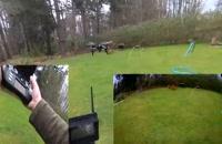کواد کوپتر خوش استایل و با کیفیت ودوربین دار Wltoys Q393-A با ارسال زنده تصویر/ایستگاه پرواز