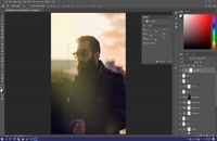 نیم ساعت ادیت عکس با فتوشاپ توسط رضاصاد در یک دقیقه