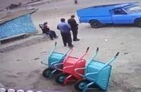 حادثه ای وحشتناکی که به خیر گذشت!