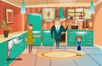 انیمیشن جشنواره بزن بریم مدرسه افق کوروش