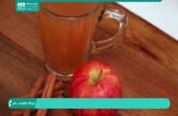 آموزش درست کردن نوشیدنی گرم سیب و داچین