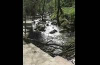 Waterfall Kabudoal آبشار کبودوال واقع در 5 کیلومتری شهرستان علی آباد کتول    گردشگری