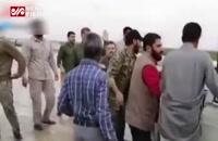 فیلمی از کمک سردار سلیمانی به یک خودرو گرفتار در سیل