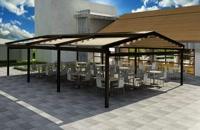 حقانی 09380039391-سقف جمع شونده تالار-سقف متحرک حیاط رستوران