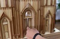 آموزش ساخت یک کلیسا با استفاده از چوب