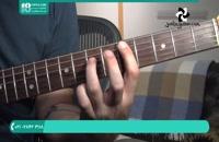 نواختن گیتار با ریتم متوسط
