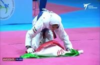 کسب مدال طلای وزن 44- کیلو توسط ساناز عباسپور