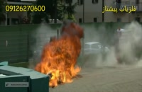 حوادث در رالی های موتور سواری و صحنه های جذاب و دیدنی
