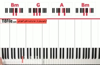 آهنگ بی کلام لاو استوری با پیانو