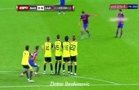 قدرتمند ترین ضربه ایستگاهی زن های فوتبال