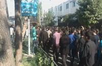تشییع و خاکسپاری حاج محمد باقر منصوری