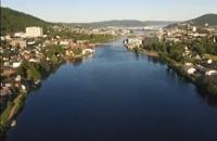 شهر درامن در نروژ، شهری در میان رودخانه - بوکینگ پرشیا