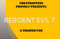 دانلود ترینر بازی Resident Evil 7 با +13 کدترینر با آموزش تصویری
